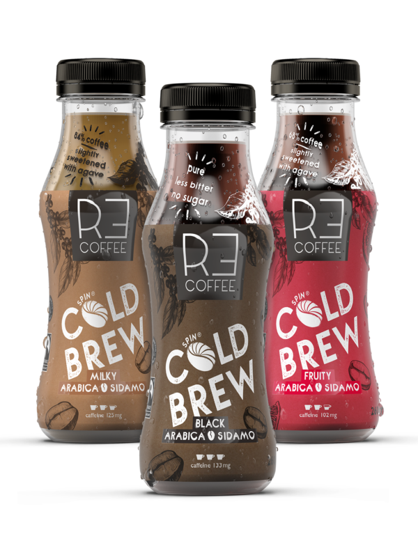 Probier-Paket: Cold Brew, Black, Milky, Fruity